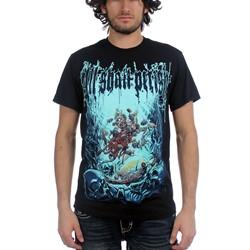 All Shall Perish - Mens Deep Sea T-Shirt in Black