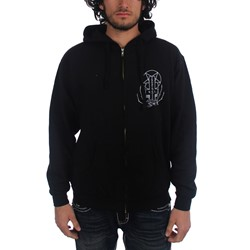 Prosthetic Records - Mens Venice 2 Hoodie in Black