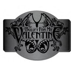 Bullet For My Valentine - Logo & Creatures Belt Buckle
