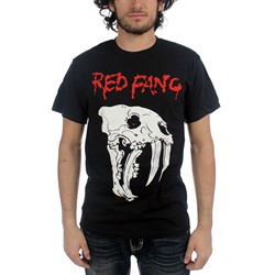 Red Fang - Mens Logo T-Shirt in Black