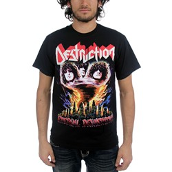 Destruction - Mens Eternal Devastation T-Shirt in Black