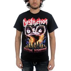 Destruction - Mens Eternal Devastation T-Shirt in Black