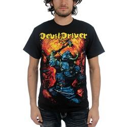 DevilDriver - Mens Warrior T-Shirt in Black