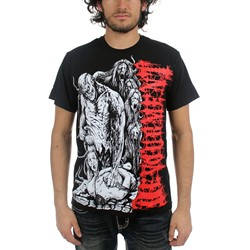 Devourment - Mens Dead Body T-Shirt in Black