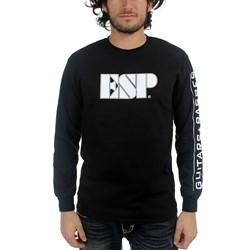 ESP Guitars - Mens Logo Long Sleeve shirt in Black