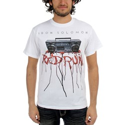 Iron Solomon - Mens Redrum T-Shirt in White