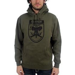 Clutch - Mens Calvary Hoodie in Army
