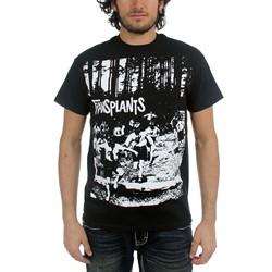 Transplants - Mens Running Kids/Gasmasks T-Shirt
