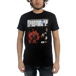 Valiant - Mens Shadowman - 8 Bit T-Shirt T-Shirt