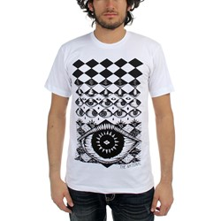 National, The - Mens Eyeball T-Shirt in White