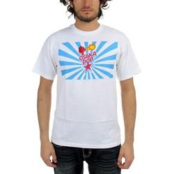 Osaka Popstar - Dog Stripes Adult T-Shirt In White