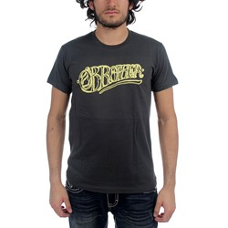 O'Brother - Mens Logo Tee T-Shirt In Charcoal