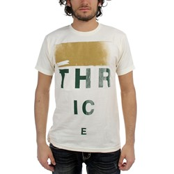Thrice  - Eye Chart Adult T-Shirt In Natural