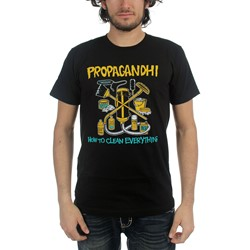 Propagandhi - Mens How To Clean Everything T-Shirt