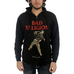 Bad Religion - Mens Dissent Of Man Zip-Up Hoodie