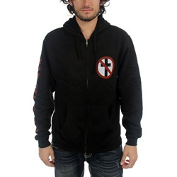 Bad Religion - Mens Crossbuster Zip Up Hoodie