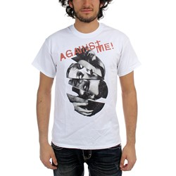 Against Me - Mens Heads T-Shirt