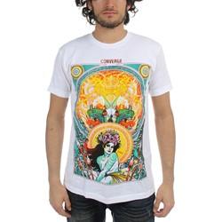 Converge - Mens Florian White T-Shirt