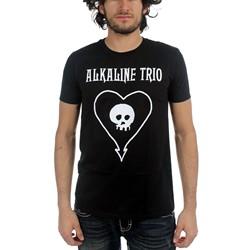 Alkaline Trio - Mens Classic Heartskull T-Shirt