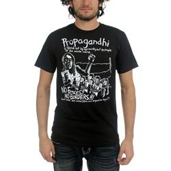 Propagandhi - Mens No Borders No Fences T-Shirt
