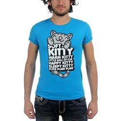 Big Bang Theory - Mens Soft Kitty Hugging Words T-Shirt