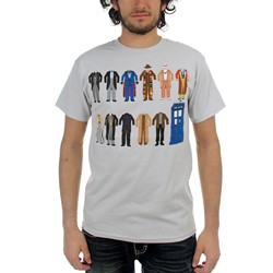 Dr. Who - Mens Outfits T-Shirt