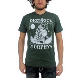 Dropkick Murphys - Mens Vintage Skeleton Piper T-Shirt