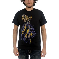 Opeth - Mens Faces T-shirt in Black