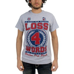 A Loss For Words - Mens No Sanctuary T-Shirt in Ash Heather