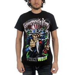 Kottonmouth Kings - Mens I Want Weed T-Shirt in Black