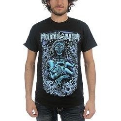 Molotov Solution - Mens Diamond Eyes T-Shirt in Black