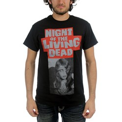 Night of the Living Dead - Mens Kyra Coming Out T-Shirt in Black
