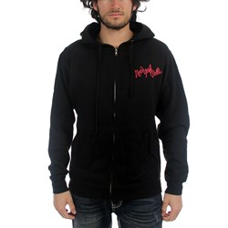 New York Dolls - Faces Mens Zip Hoodie In Black