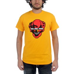 Killing Joke - Mens Zuma Clown T-Shirt in Gold