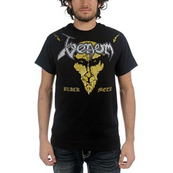 Venom - Mens Black Metal  T-shirt in Black