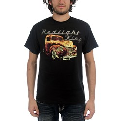 Redlight King - Mens Truck Logo T-Shirt in Black