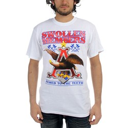 Swollen Members - Eagle Mens T-Shirt In White