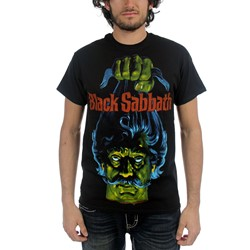 Horror - Mens Black Sabbath T-Shirt in Black
