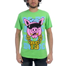 Brokencyde - Crunk Pig Mens T-Shirt In Grass