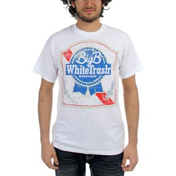 Big B - Blue Ribbon Mens T-Shirt In White