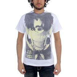 Frank Zappa - Mens PIPCO Lumpy Gravy Premium Prints T-Shirt in White