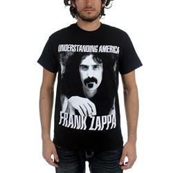 Frank Zappa - Mens Understanding America T-Shirt in Black