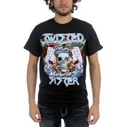 Twisted Sister - Chick Skull Mens T-Shirt In Black