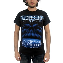 Testament - Mens The New Order T-shirt in Black