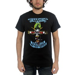 Testament - Mens Disciples of The Watch T-shirt in Black