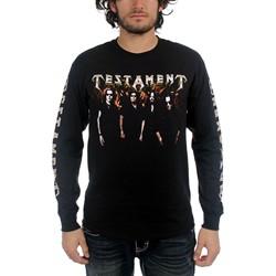 Testament - Mens Logo  T-shirt in Black