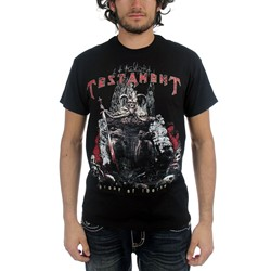 Testament - Mens Throne of Thorns T-Shirt in Black