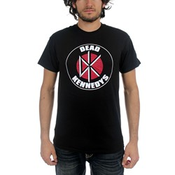 Dead Kennedys - Mens Classic Logo T-Shirt in Black