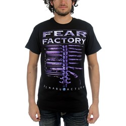 Fear Factory - Mens Demanufacture T-Shirt in Black