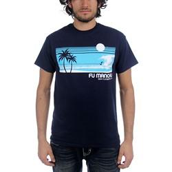 Fu Manchu - Mens Surf San Clemente T-Shirt in Nayv